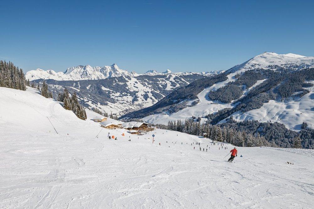 Saalbach-Hinterglemm meldete über einen halben Meter Neuschnee - ©Facebook Saalbach Hinterglemm