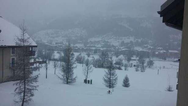 Wonderfull powder nice ski .