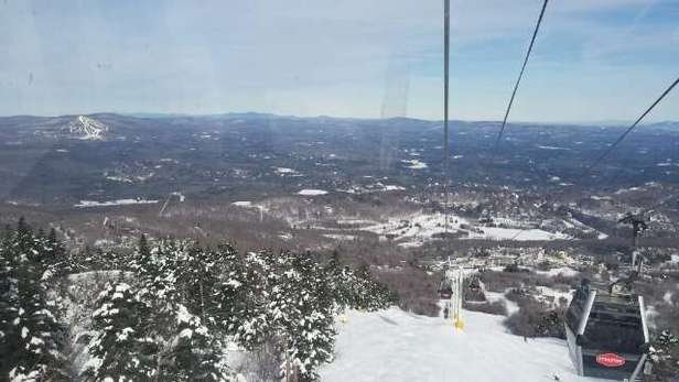 just a terrific day with views as far as the eye can see. This was stratton at its best.