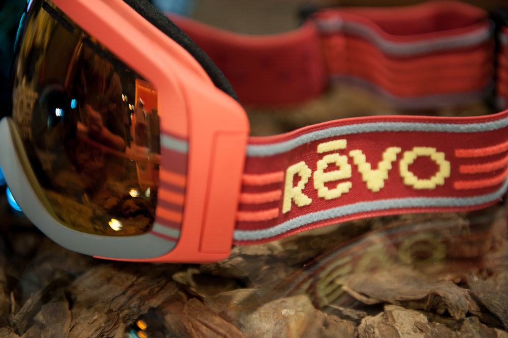 Revo introduces goggles with a throwback look and 50% polarized, photochromic technology. - ©Ashleigh Miller Photography