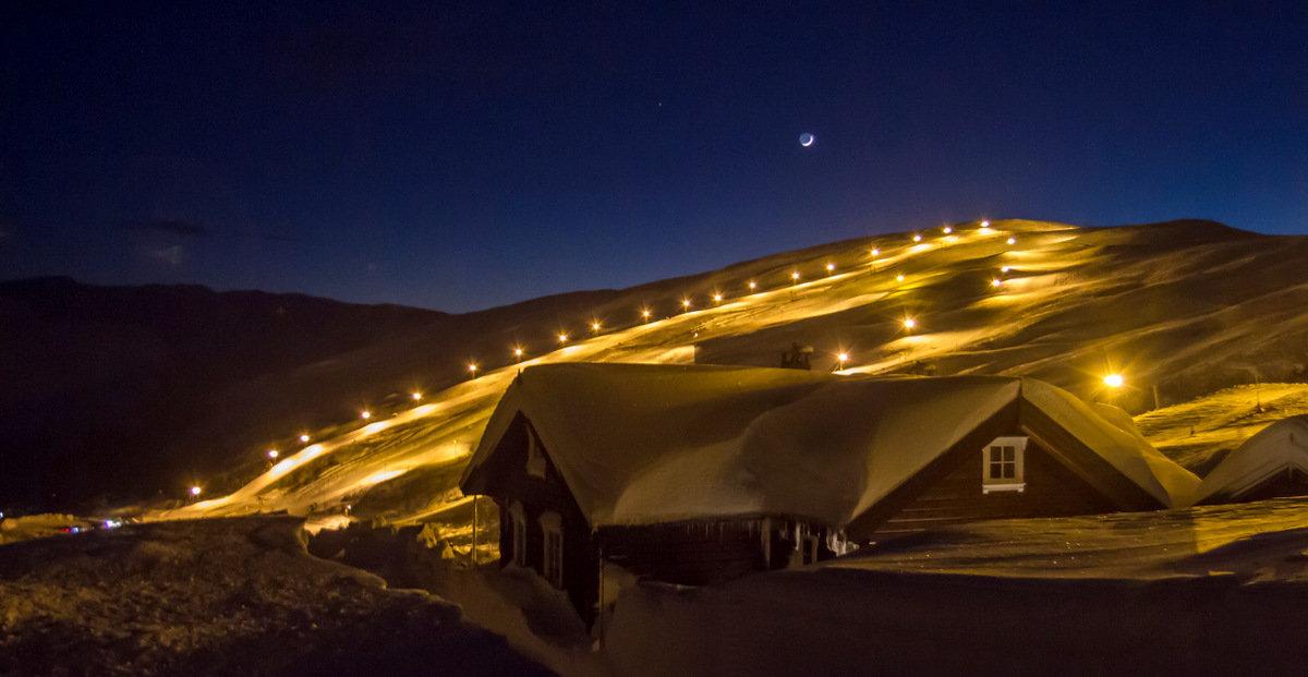 - ©Forholdene i løypene i Eikedalen Skisenter er nå på sitt aller beste.