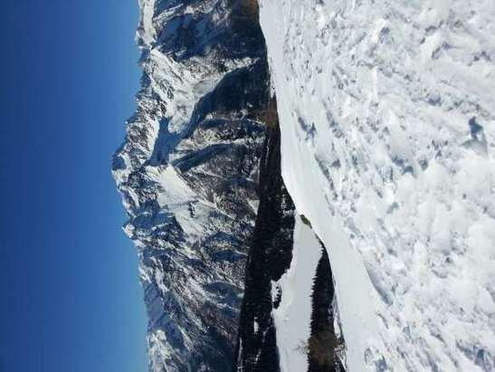 Giornata stupenda, poca gente e neve ottima!