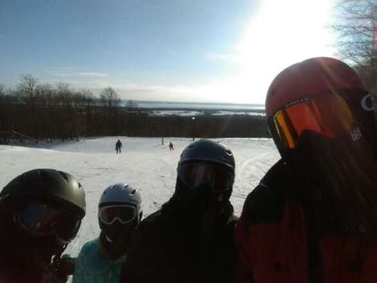 Really cold day but everything was great.