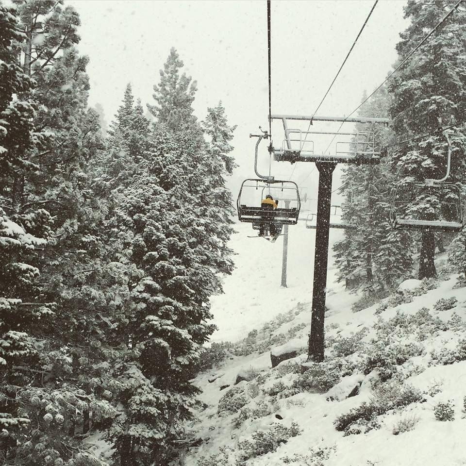 Snow peeking at Diamond Peak. - ©Diamond Peak