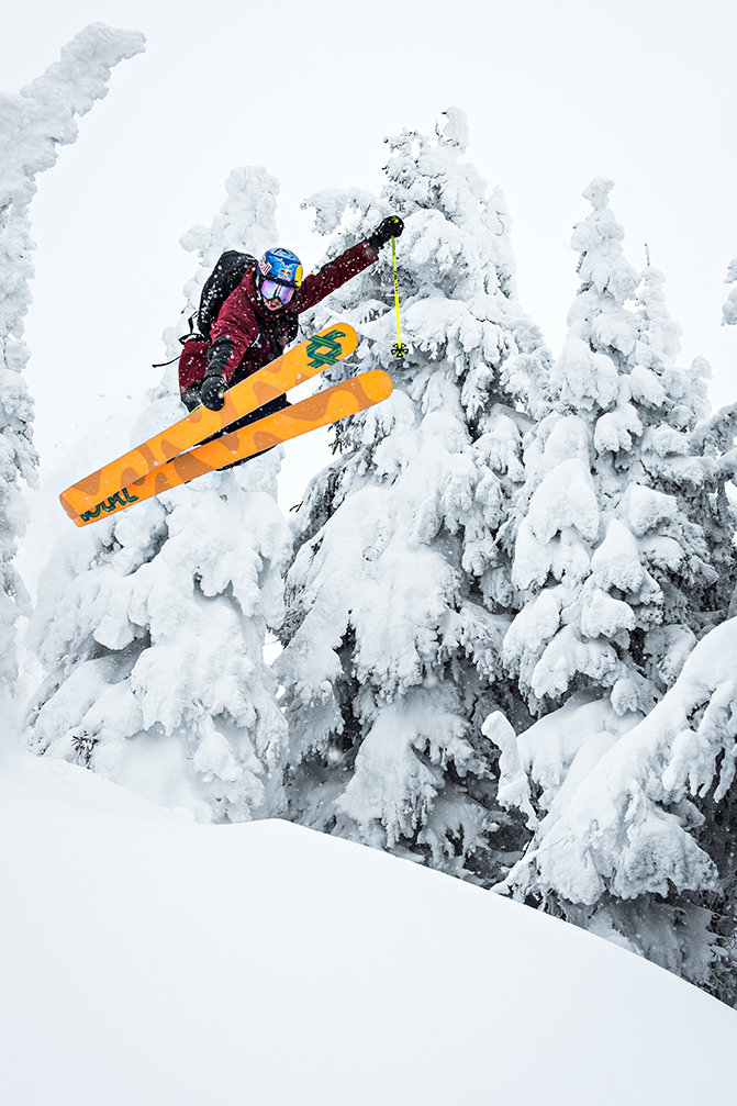 Paddy Graham in Revelstoke - ©Pally Learmond