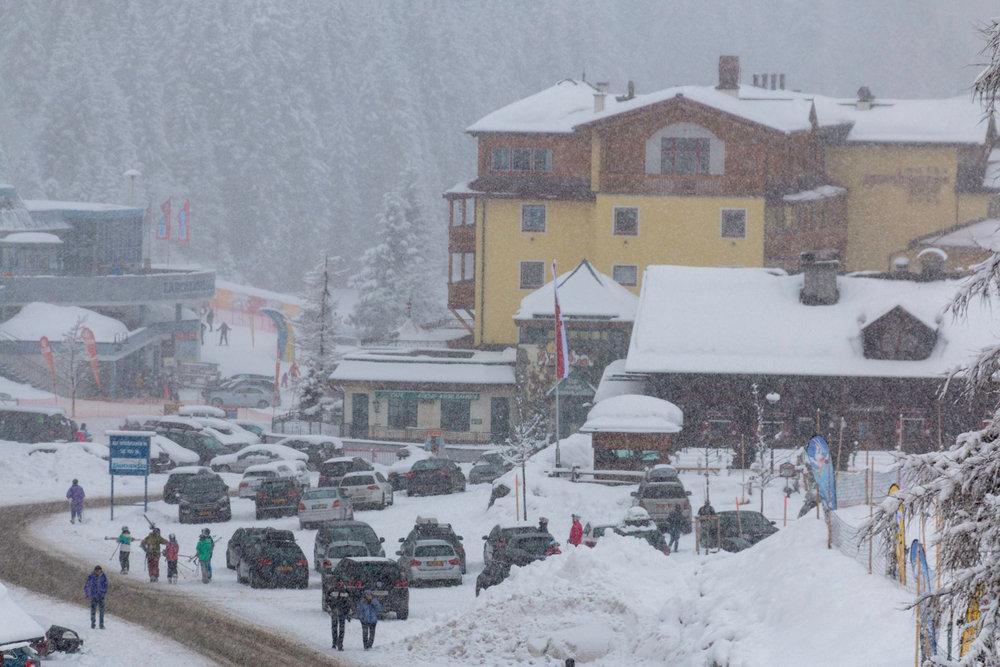 Schneefälle in Zauchensee (24.2.2015) - ©Zauchensee Facebook