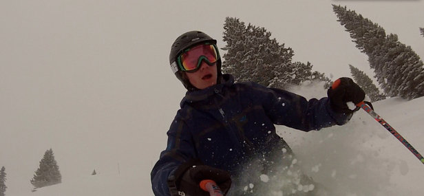 Awesome conditions able to find some great snow