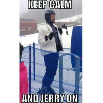 Way to much powder for Jerry.