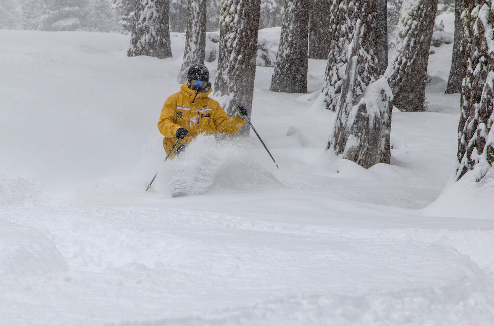 Feb. 28, 2015 powder at Northstar California. - ©Northstar California Resort