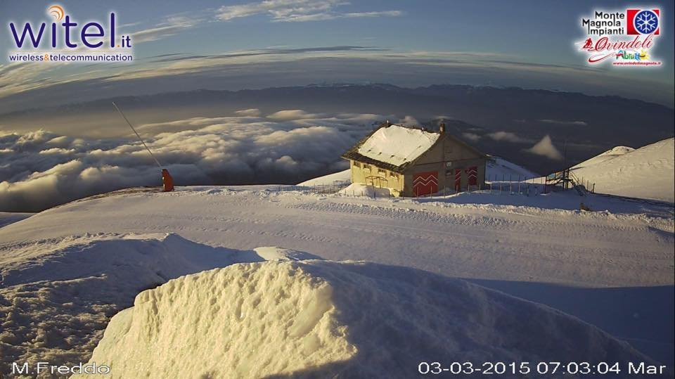 Monte Magnola - Ovindoli - ©Monte Magnola Impianti - Ovindoli Facebook