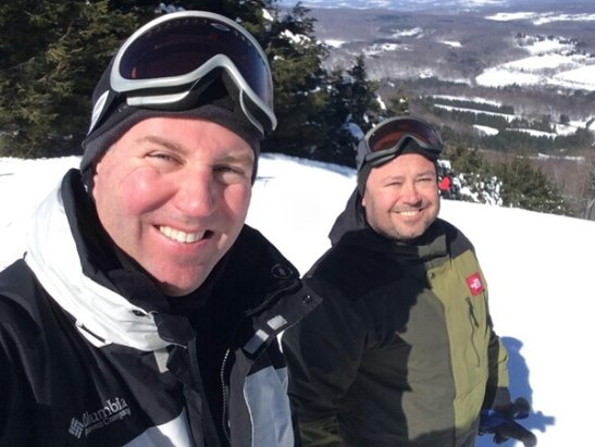 Elk Mountain Ski Resort - Had a blast on March 1st. Delayed posting.
