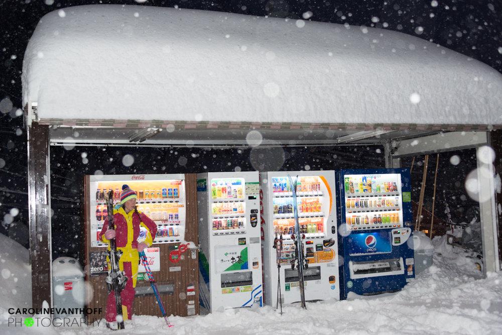 Powdertrip nach Japan:  Caroline van 't Hoff und Julie Nieuwenhuys entdecken das Land der aufgehenden Sonne - ©Caroline Van T Hoff