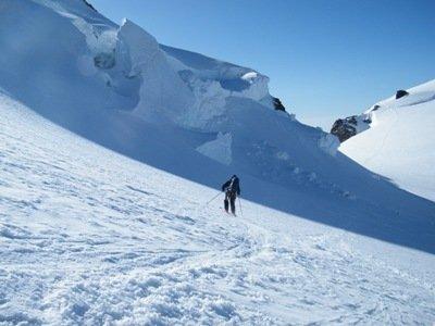 Skiing down Monte Rosa | Dom - ©Dre | dom2ski @ Skiinfo Lounge