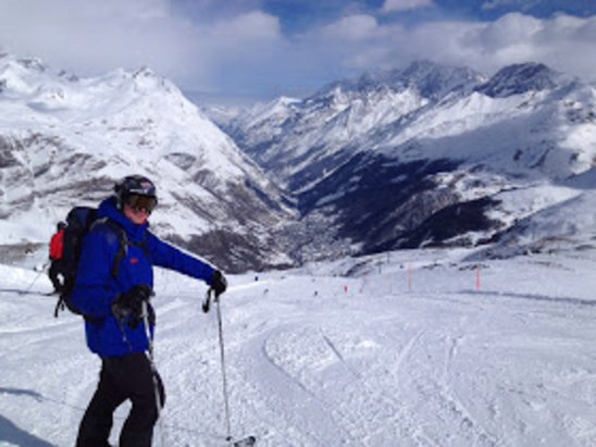 Zermatt - This is a paradise. No wind. Everything is open