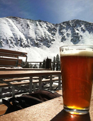 Arapahoe Basin Ski Area - Oh how I've missed coors native!  Repyourwater.com