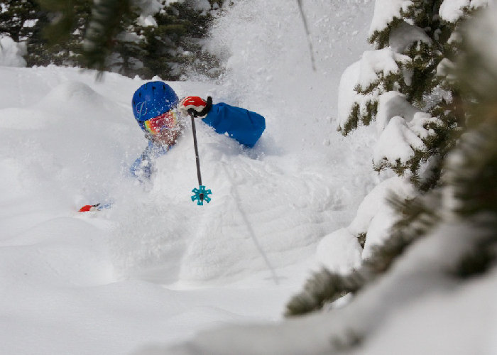 Deep powder at Aspen/Snowmass to ring in March. - ©Aspen Snowmass