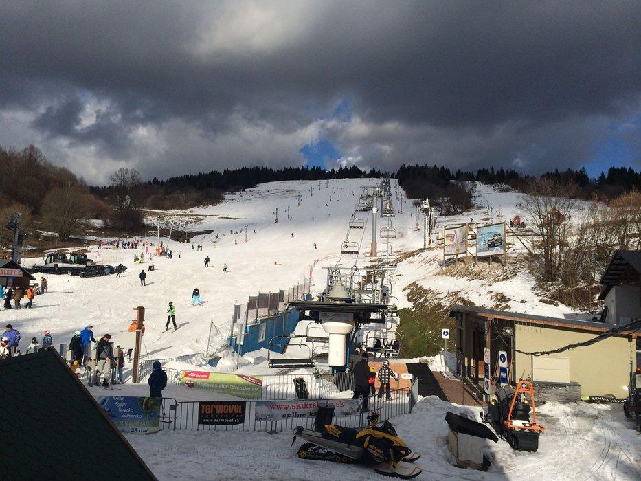 Ski resort Krahule