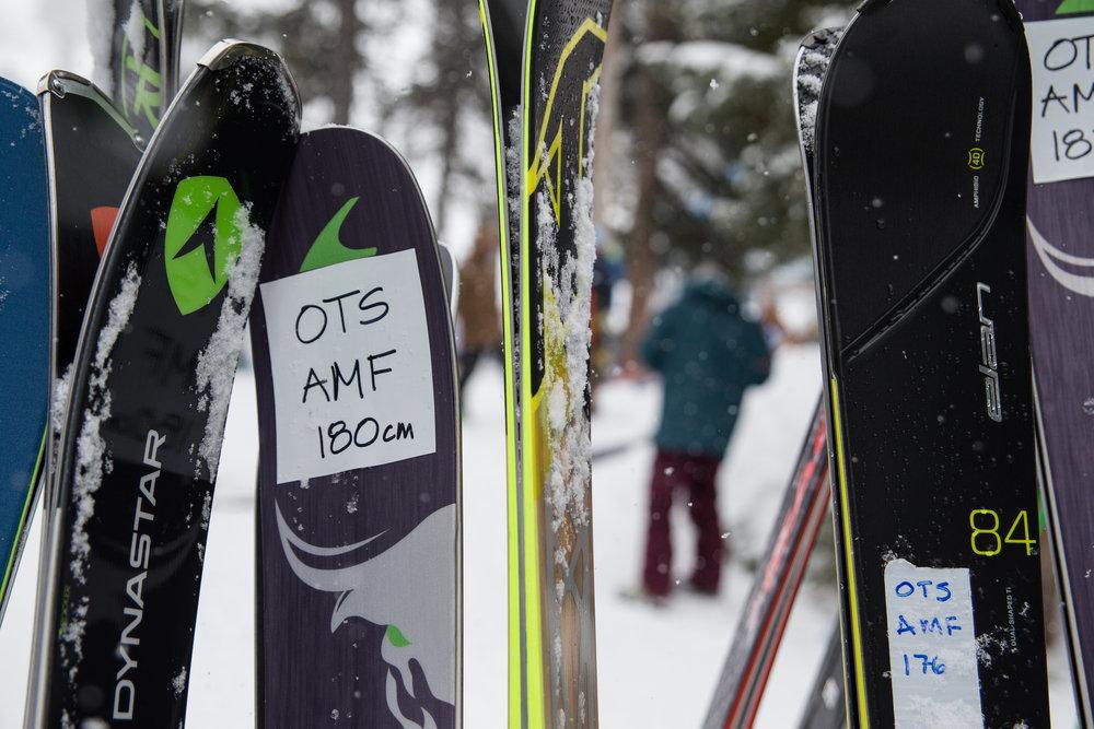 Skis tests 2017 - ©Liam Doran