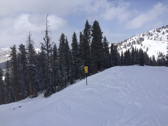 Brighton Resort - Firsthand Ski Report - ©Konstantin's iPhone 5 S