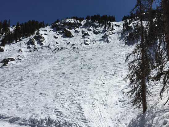 Taos Ski Valley - Great spring skiing. Best from about 11 - 2. Wear your sunscreen!