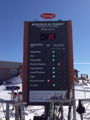 Tremblant - First Hand Ski Report