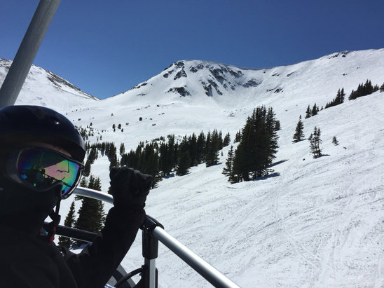 Breckenridge - Last two days have been awesome. Warm spring skiing with still plenty of snow.