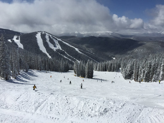 Keystone - Had a great spring break week at Keystone!  Crowds were light, snow was soft and spring-like thru midweek, but the 8