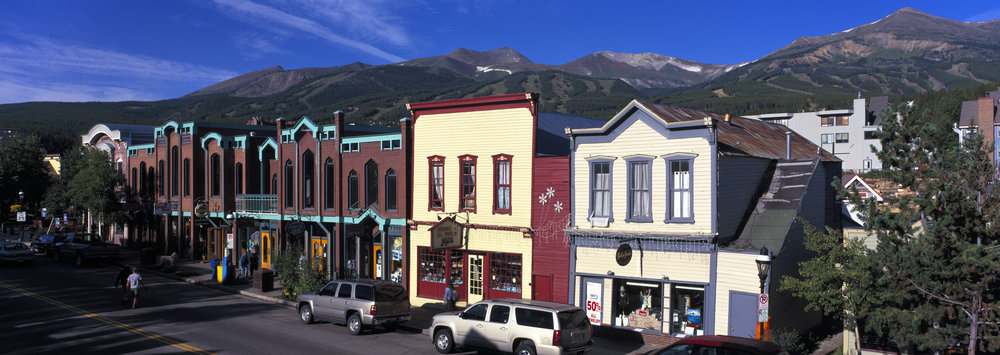 Summer on Breckenridge's Main Street. Image by Jeff Scroggins.  trice 3f 003