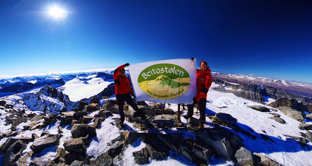 Galdhøpiggen 2469 m | Andris Malasevskis and Bent-Johan Pakarinen - ©Tor Solberg | Malasevskis @ Skiinfo Lounge
