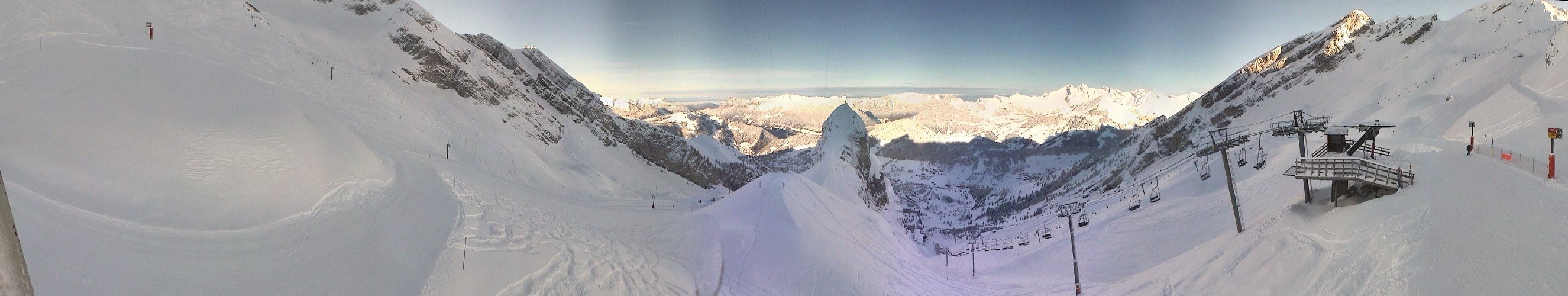 La Clusaz - ©webcams 4 janvier 2012 | flamelibra @ Skiinfo Lounge