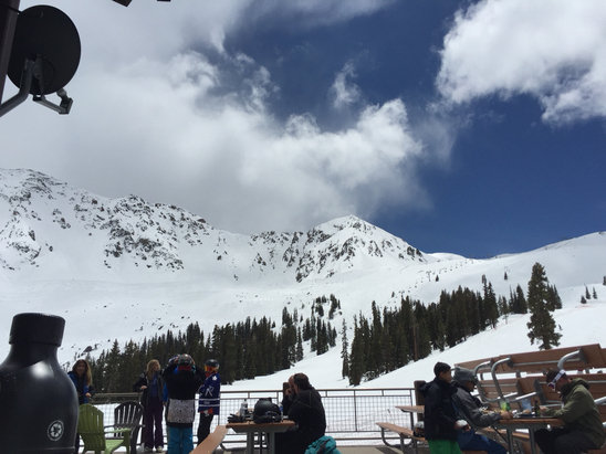 Arapahoe Basin Ski Area - Awww.  The sun.