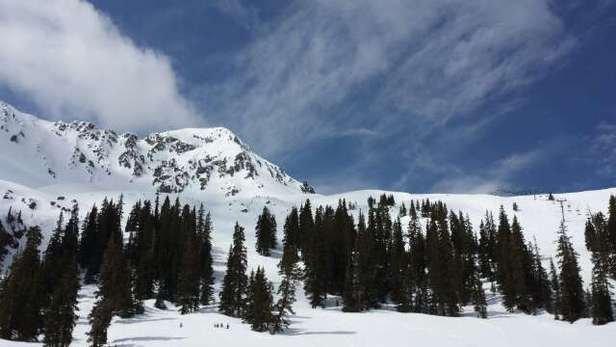 Arapahoe Basin Ski Area - Sweet Spring Conditions