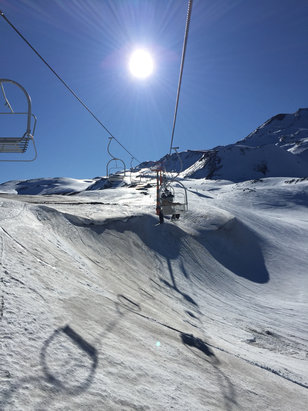 Nevados de Chillan - Open !!!!  - ©iPhone