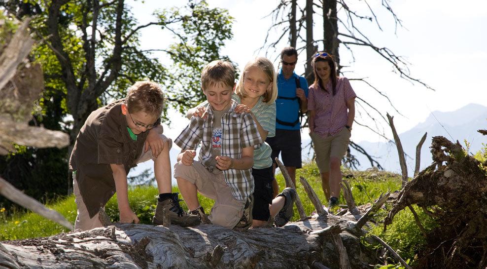 Kinder in der Alpenwelt Karwendel - ©Alpenwelt Karwendel