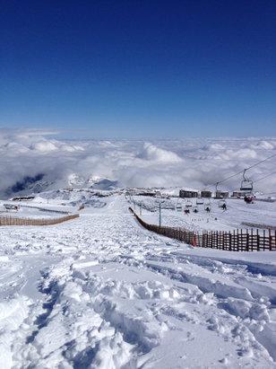 El Colorado - Firsthand Ski Report - ©Bibi