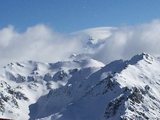 Cerro Catedral Alta Patagonia - Gorgeous view at the top of Nubes Liftchair. - ©Marcelo Blanco's iPhone