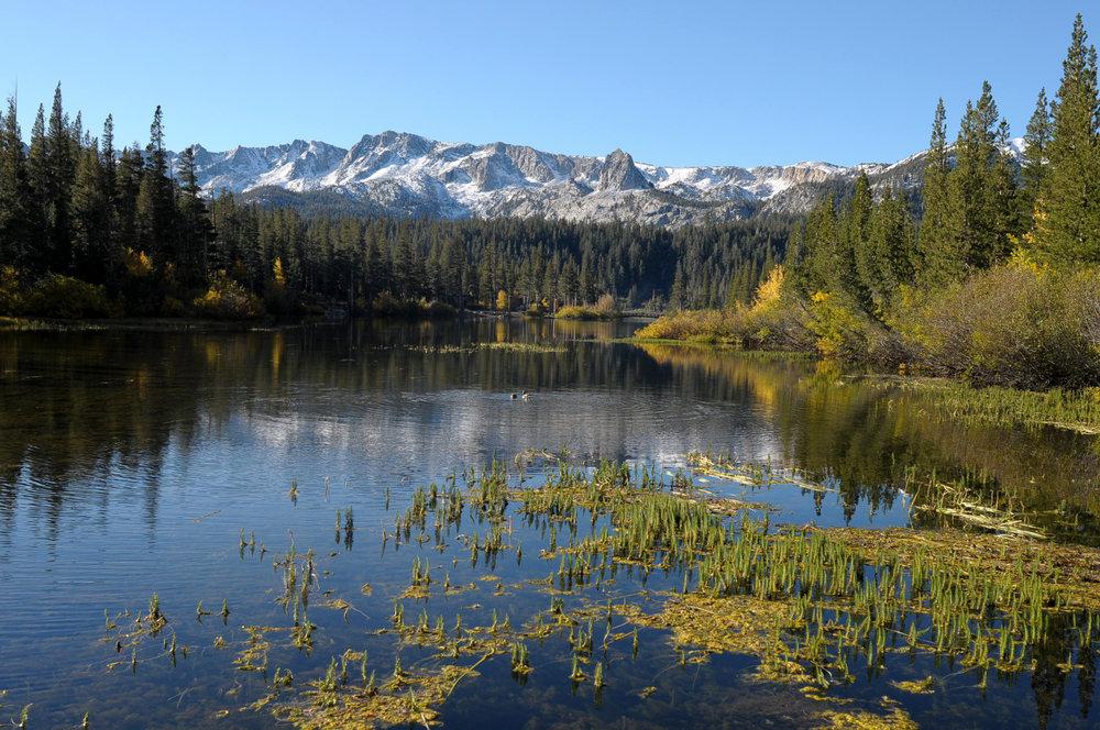 Lower Twin Lakes near Mammoth Mountain, CA.