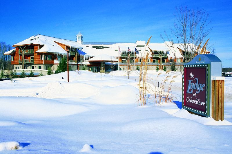 A view of a lodge at Shanty Creek Resorts, Michigan