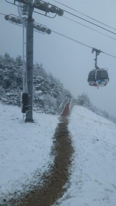 Killington Resort - first day of the season at the Beast - ©Telebyrd