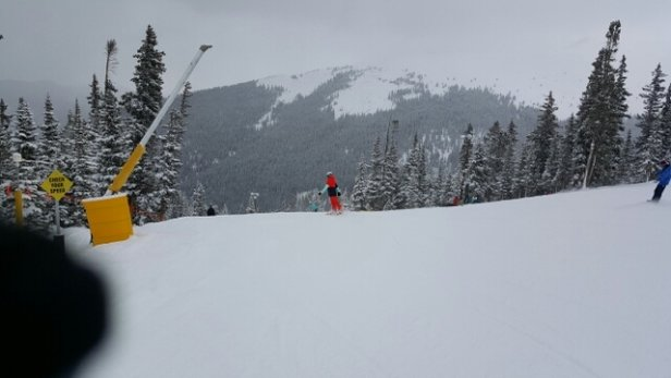 Keystone - great opening day, mid season conditions on the one run open. bodes well for the season to come!  - ©Canada Dan