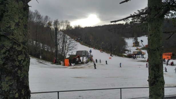 Appalachian Ski Mountain - a lot of exposure. not bad to get your feet