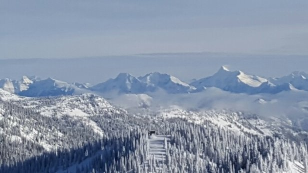 Whitefish Mountain Resort - Lovely skiing without the crowds.  decent snow for early season on the back side.  - ©dnapartnersllc