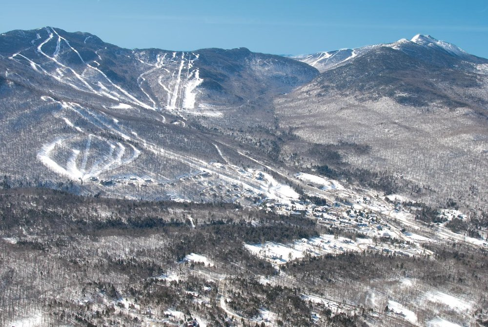 Scenic Smugglers' Notch, Vermont.