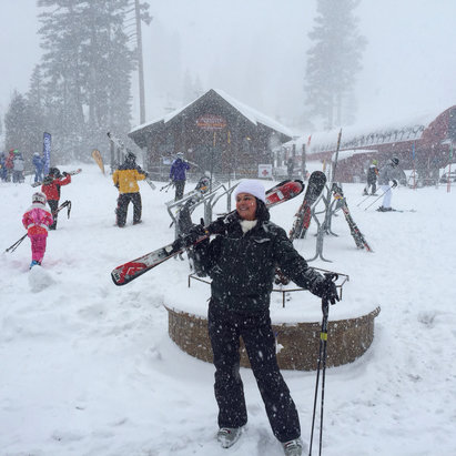Northstar California - Firsthand Ski Report - ©Patti's iPhone