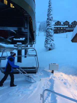 Whitefish Mountain Resort - Deeeeeeeep - ©snow??