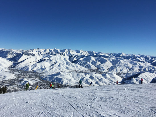 Sun Valley - Excellent skiing and no crowds. - ©Billy K