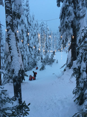 Grouse Mountain - Firsthand Ski Report - ©Dawn's iPhone