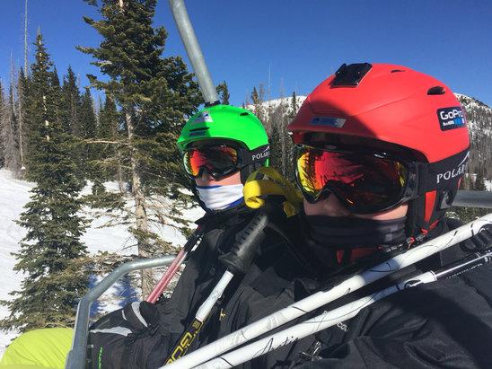 Wolf Creek Ski Area - Awesome powder!!!!! - ©Luba's iPhone??????