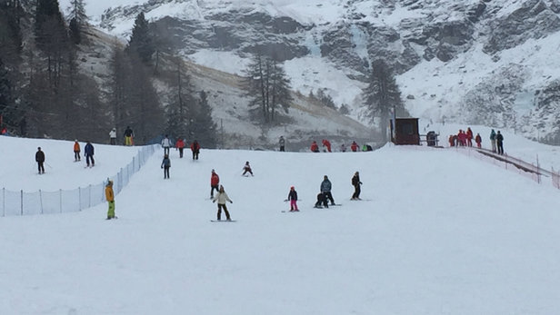 Champoluc - Monterosa Ski - 10 cm di splendida polvere bianca e continua!!! - ©Alby MC 98000