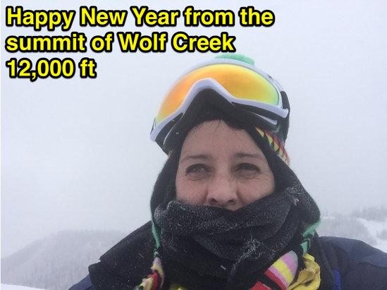 Wolf Creek Ski Area - Steep and Deep!  Like waist deep!  Cherie Austin TX  Founder & CEO www.healincomfort.com - ©iPhone (13)